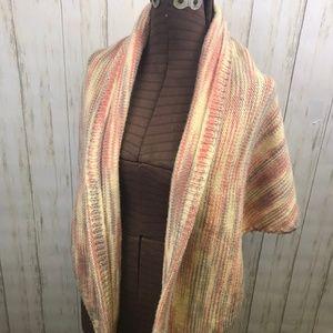 Vintage Handmade Knit Shrug Shawl Wrap